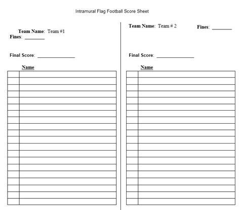 football score sheet score sheet for football 2018