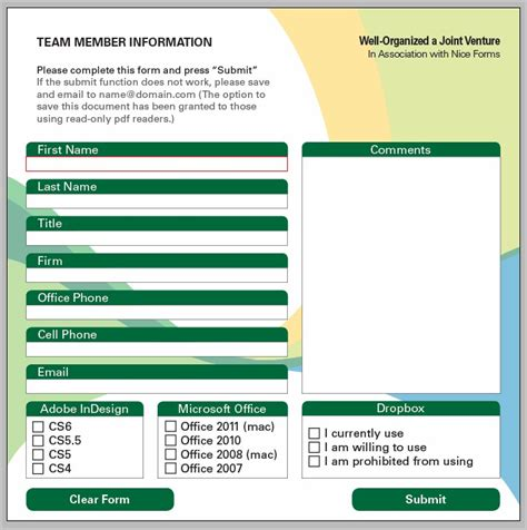 Create Fillable Pdf Form Indesign Cs6 Form Resume Exles Ealwn2nz3q Indesign Cs6 Templates