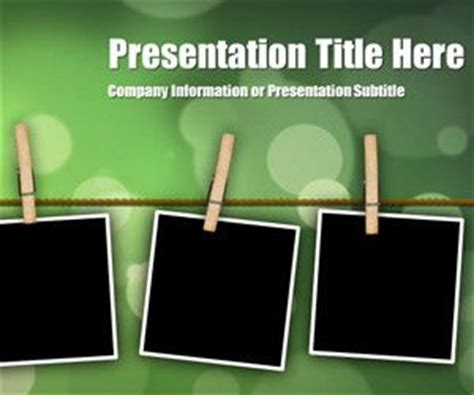 powerpoint templates free photo album abstract powerpoint templates