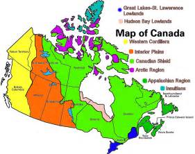 landform region map of canada appalachian region of canada map search 7th