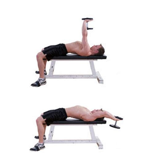 flat bench pullover top 7 best dumbbells only exercises for the chest