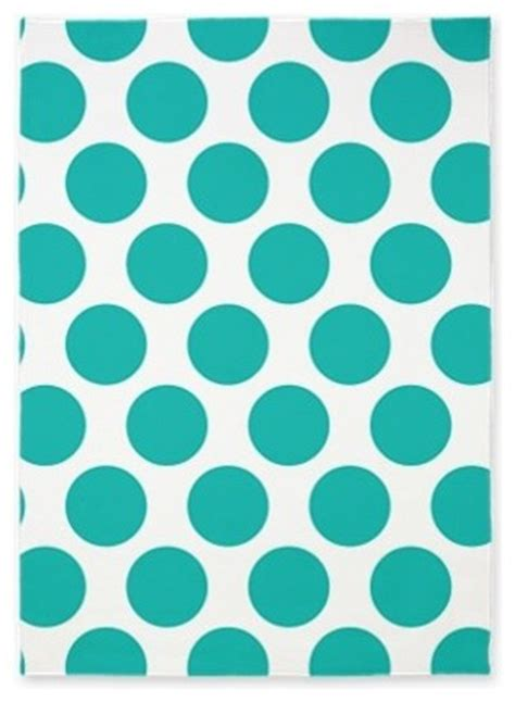 aqua polka dot rug turquoise polka dot area rug by zandiepants home decor contemporary rugs by cafepress
