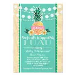 hawaiian invitations announcements zazzle au