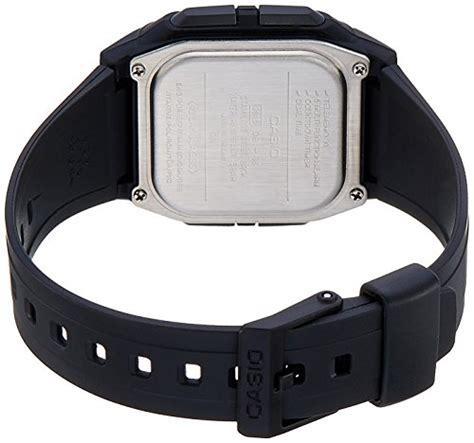 Casio Db 36 1avdf Black Rubber Buy Casio Youth Black S Db 36 1avdf Db23
