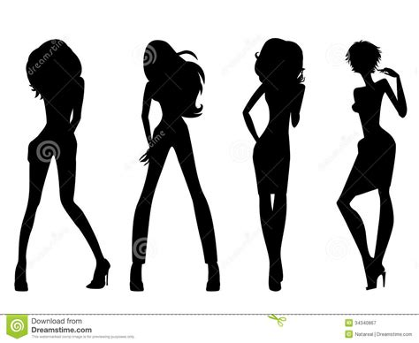 royalty free stock vector illustration models picture fashion model black and white royalty free stock vector models picture