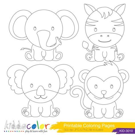 cute wild animals coloring pages 107 best images about sts on pinterest high quality