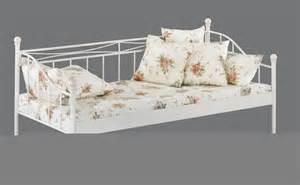 lit fer forg 233 blanc meubelium meubles