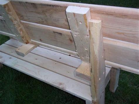 park bench wood diy wood pallet park bench 101 pallets
