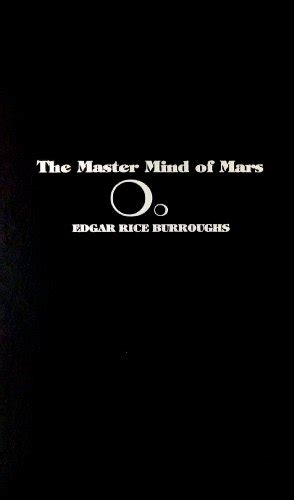 The Master Mind Of Mars the master mind of mars of mars book 6 by