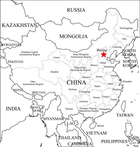 printable maps china free coloring pages of labeled asia map
