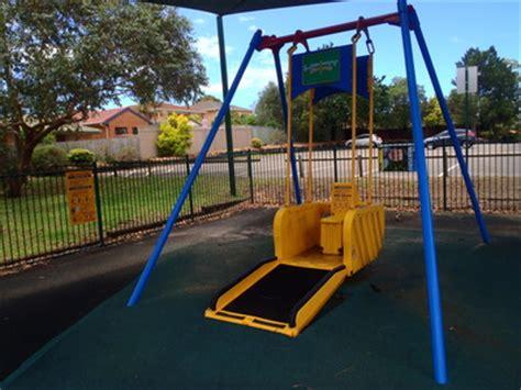 liberty swing olds park penshurst sydney fun
