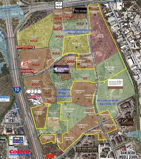 layout of the land district north loop 1604 and i 10 bexar witnessbexar
