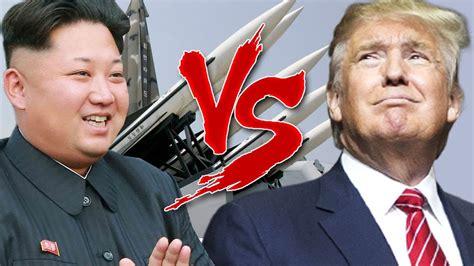 donald trump vs kim jong un donald trump vs kim jong un au bord d une guerre