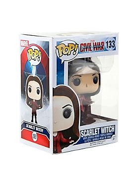 Funko Pop Captain America Civil War Scarlet Witch funko marvel captain america civil war pop scarlet witch vinyl bobble topic
