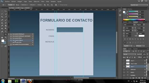 tutorial html5 y javascript tutorial html formulario de contacto html5 y css3