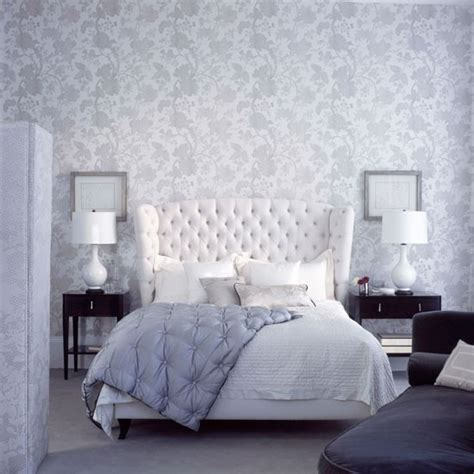 Wallpaper Designs For Bedroom Create A Delicate Scheme Bedroom Wallpaper 10 Decorating Ideas Housetohome Co Uk