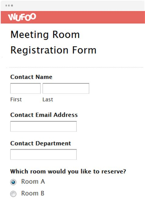 meeting register template form template wufoo
