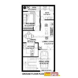 250 Square Meters To Feet house plan for 20 feet by 40 feet plot plot size 89