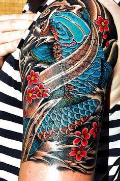 blue geisha tattoo prices coi on pinterest koi coy tattoo and japanese geisha tattoo
