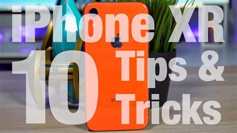 iphone xr 10 tricks
