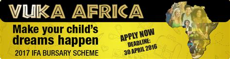 Mba Bursaries 2017 South Africa by Independent Field Advertiser Ifa Bursary Scheme 2017 For