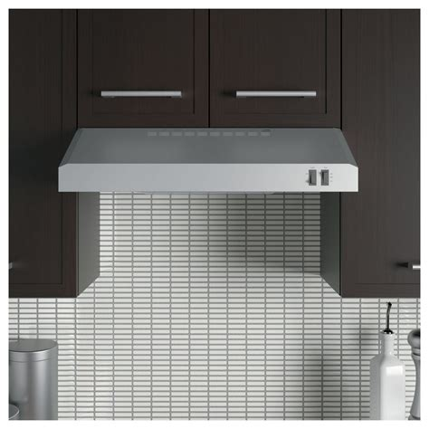 ge under cabinet range hood jvx3240sjss ge 24 quot under the cabinet hood stainless steel