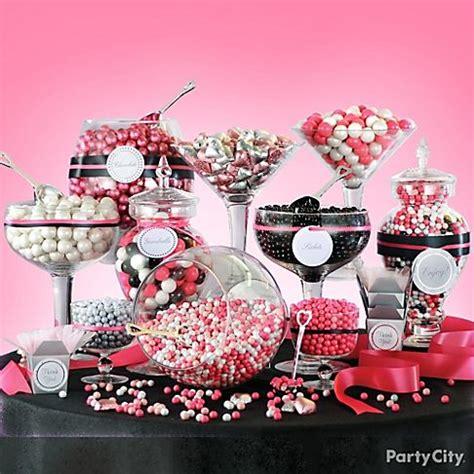 Chloe S Inspiration Halloween Candy Buffet Buffet Pink And Black Buffet