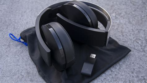 Headshet Sony playstation platinum wireless headset review is this the