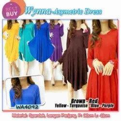 Rok Panjang Katun Rayon Rok Maxi Payung Lebar Bunga Miring Ungu pakaian grosir murah grosir eceran baju jilbab termurah