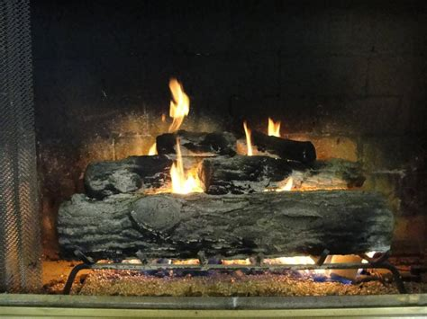 gas log fireplace fan fireplaces