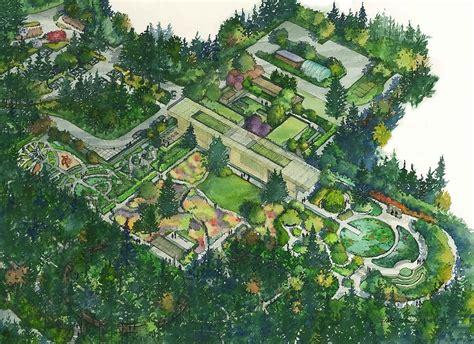 Botanical Garden Design Designing Landscapes Or Creating Gardens Part One Land Morphology