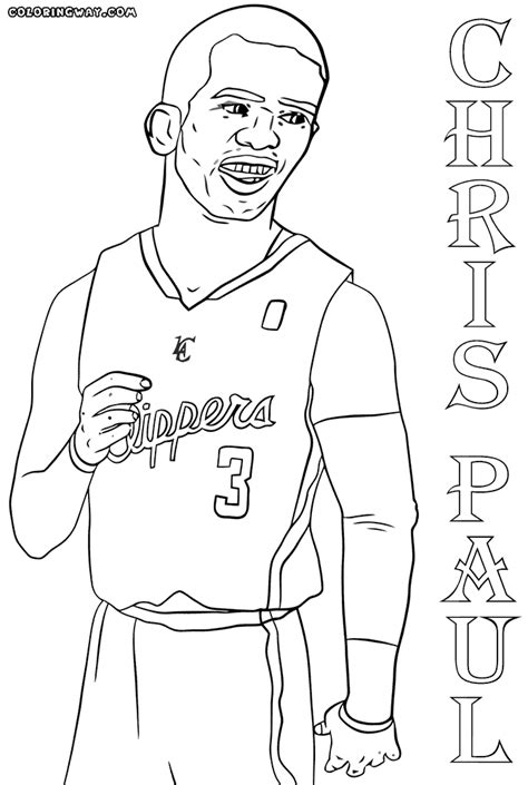 Free Printable Coloring Pages Nba Players | nba players coloring pages coloring pages to download