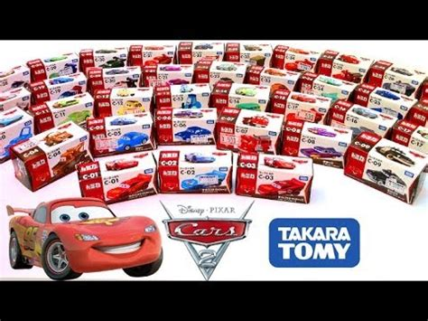 Tomica Disney Box Set Wall E cars 2 diecast complete collection cars toys takara tomy disney カーズ トミカ