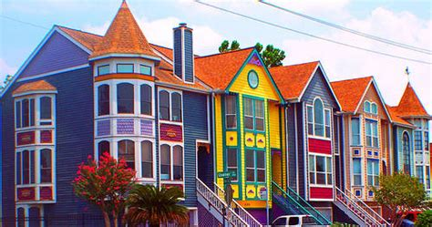 colored houses tell me a story shades of winter