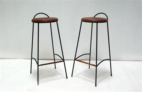 handmade iron bar stools black iron bar stools