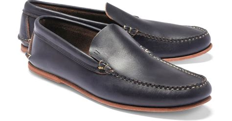 rancourt loafer brothers rancourt co american loafers in blue for