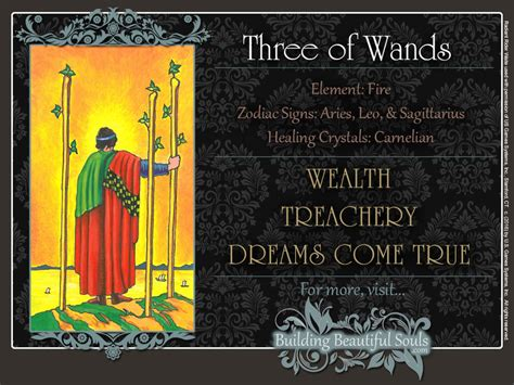 three meaning the three of wands tarot card meanings tarot reading