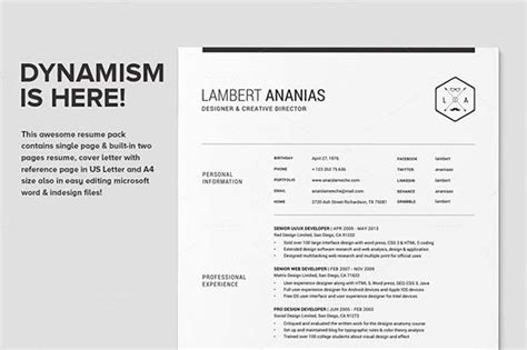 microsoft word resume templates cover letters