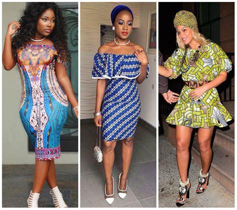 short ankara gowns 13 fabulous ankara short dress styles for the weekend