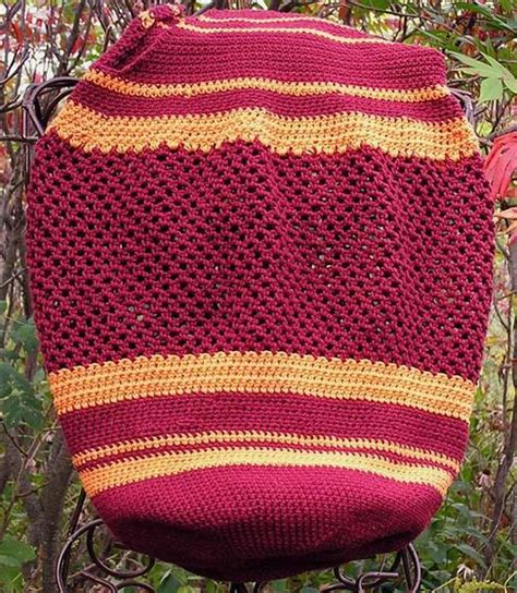 carrying colors in knitting two color striped crocheted carry all knitting patterns