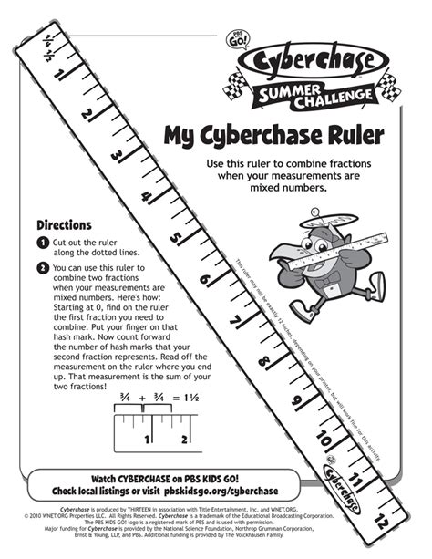 free worksheets 187 printable ruler free math worksheets activities my cyberchase ruler print