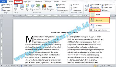 tutorial layout koran membuat format layout majalah koran di microsoft word