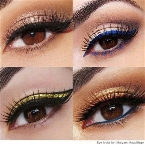 colorful eyeliner a collection of colorful eyeliner makeup ideas for