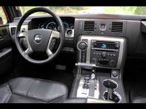 Camo Upholstery 2013 Hummer H3 Interior Youtube