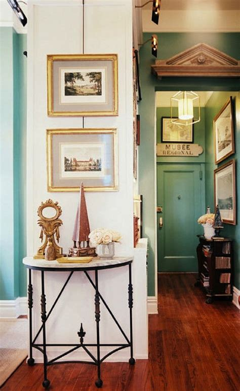 apartment foyer create impact with console tables in the entry