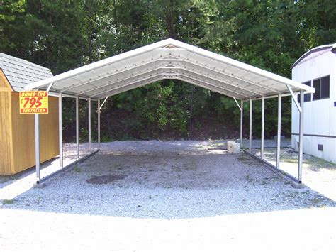 Aluminum Car Port by Carport Plans Metal Images