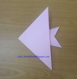 tutorial origami ikan hias dunia keluarga kami origami ikan tutorial