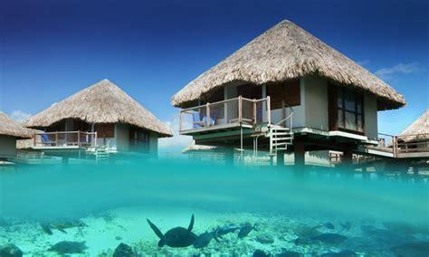 water bungalows le meridien bora bora resort starwood hotel tahiti
