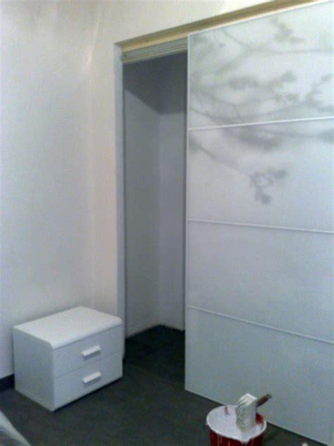 porte scorrevoli per armadi a muro foto realizzazione armadio a muro con porte scorrevoli 1
