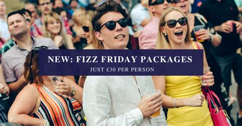 Introducing Fridays by Introducing Fizz Fridays Newton Abbot Racecourse